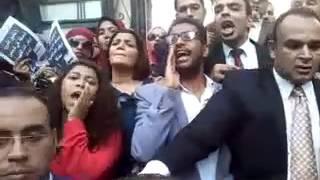 بالفيديو.. المحامون يهددون بإضراب عام بجميع محاكم الجمهورية ضد «القيمة المضافة»