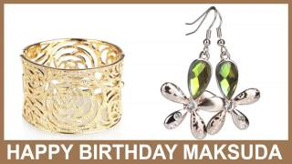 Maksuda   Jewelry & Joyas - Happy Birthday