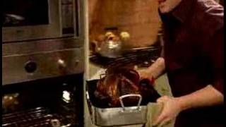 Tyler Florence's Roasted Turkey W/pom Glaze