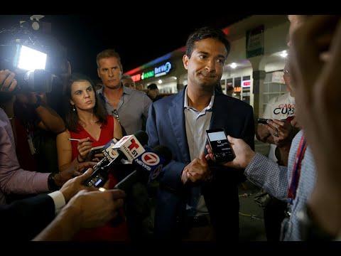 Miami Republican Rep. Carlos Curbelo lost to Democrat Debbie Mucarsel-Powell on Tuesday night