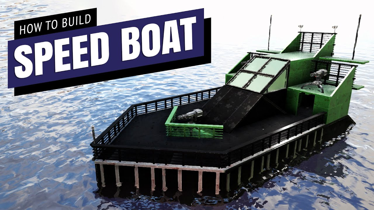 Speed Boat MKII How To Build NO MODS | Ark Survival