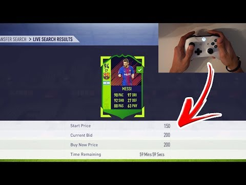 FIFA 18 | HOW TO SNIPE PLAYERS *FAST* (FIFA 18 HOW TO SNIPE FASTER ON CONSOLE)