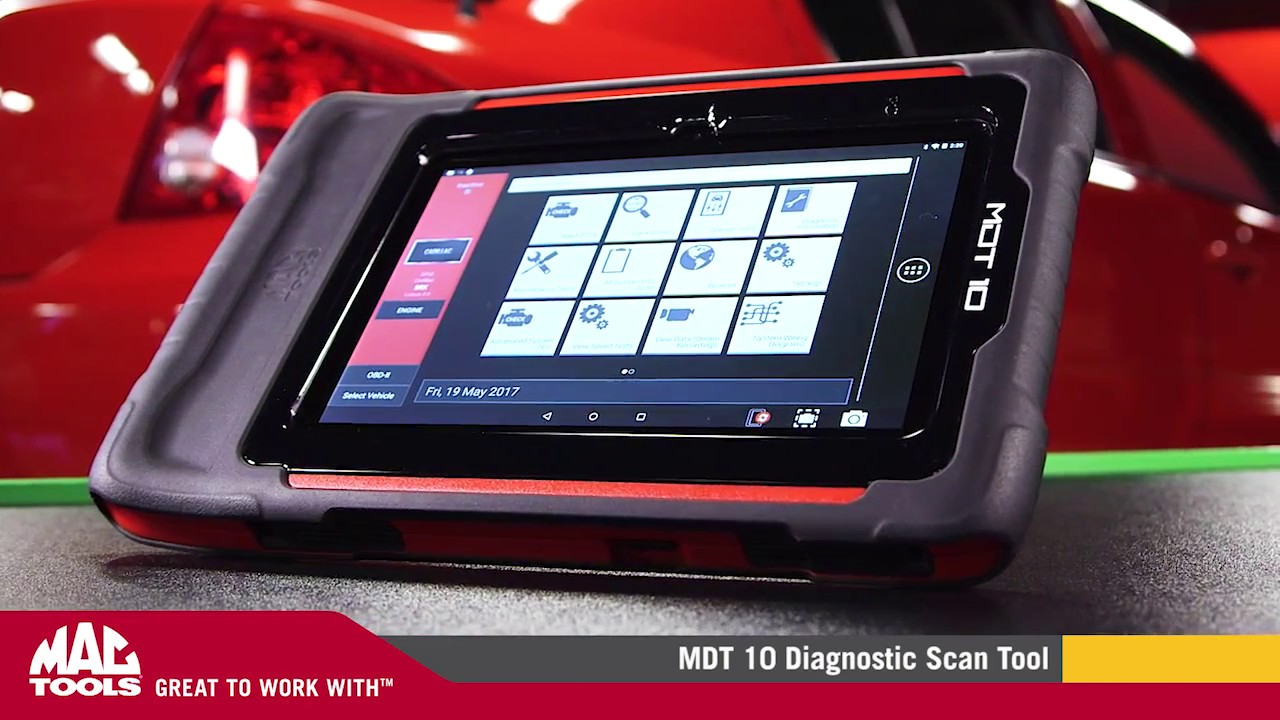 MDT 10 Diagnostic Scan Tool | Features | Mac Tools® by Mac Tools
