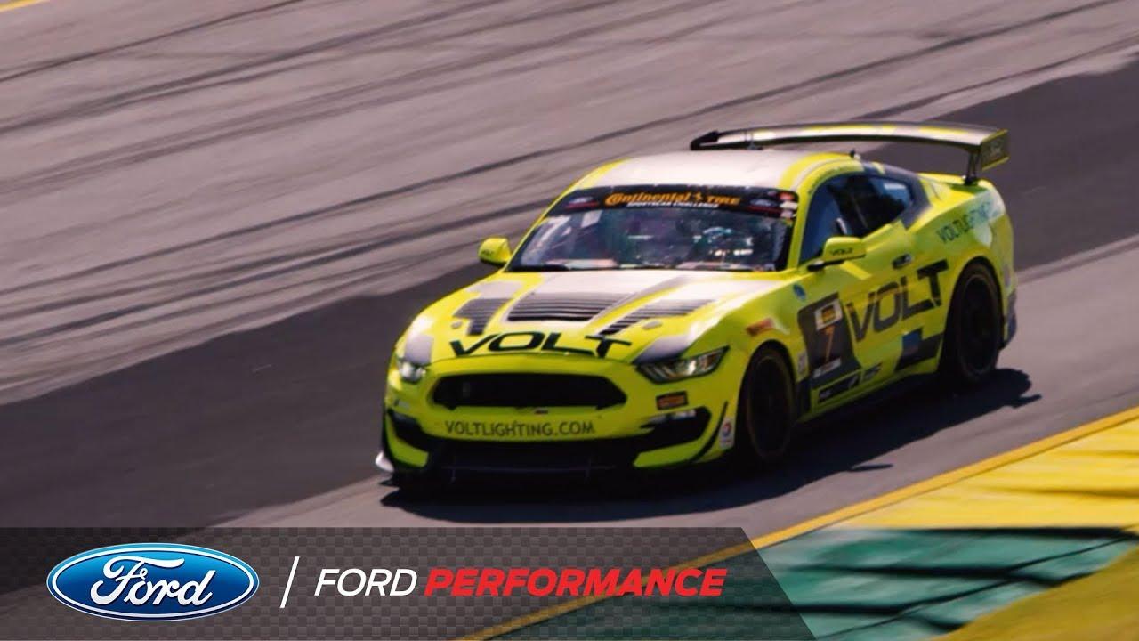 Ford Mustang Gt4 Highlights At Road Atlanta Ford Performance Youtube