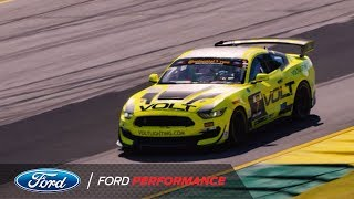 Ford Mustang GT4 Highlights at Road Atlanta | Ford Performance