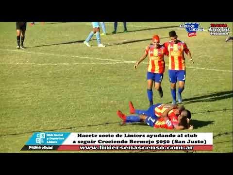 Centro Español 1-0 Liniers (GOL) Imágenes de Liniers en Ascenso (con repetición)