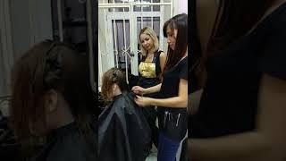 """""""Наша Школа парикмахеров"""" обучение студентов"""