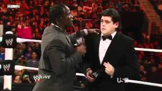 The Miz, Ricardo Rodriguez & R-Truth Segment - WWE RAW 1/9/12