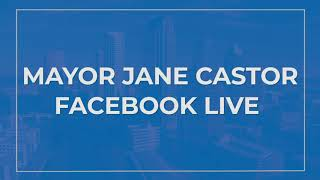 September, 16 2020 –Mayor Jane Castor with Erik Maltais