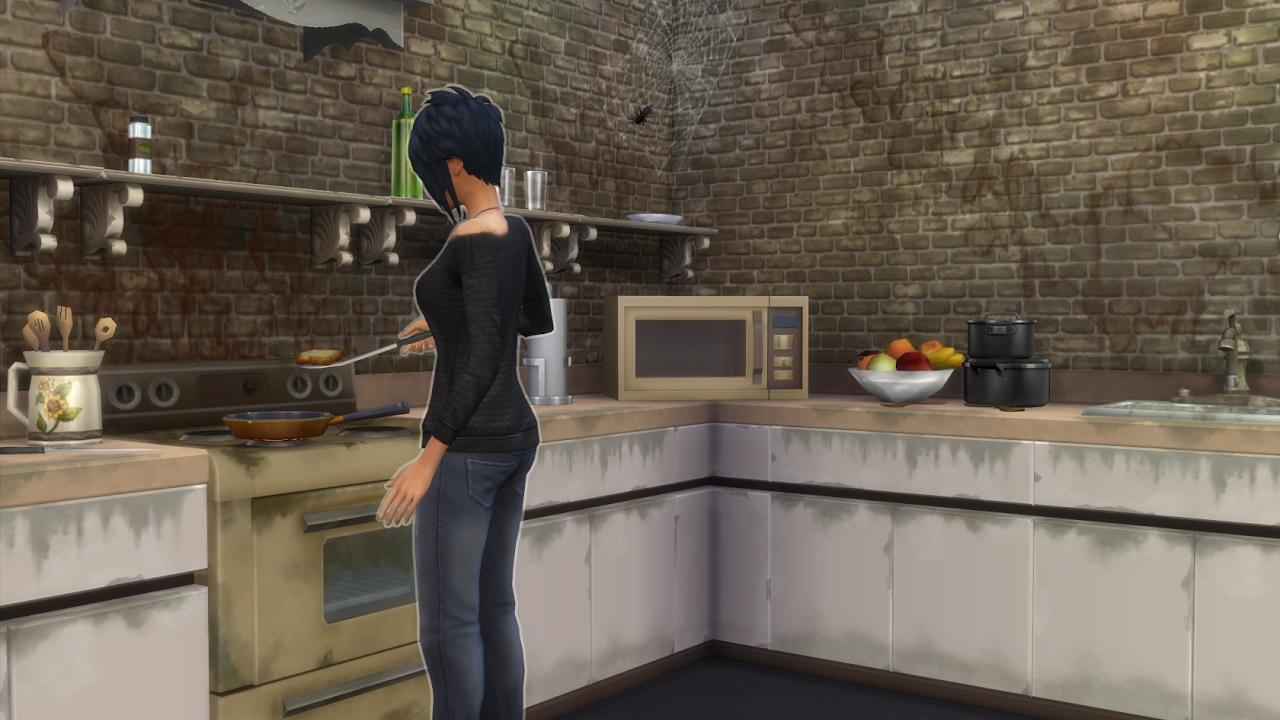 Forgotten Hollow Sims  Build