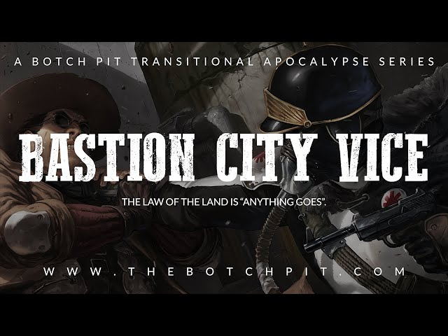Degenesis: Rebirth Edition | Bastion City Vice | Session 0: Law Of The Land, Part 1