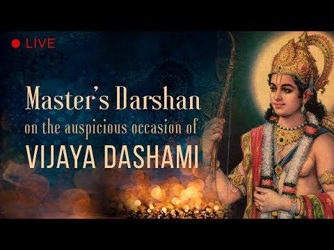 Master's Darshan On The Auspicious Occasion Of Vijaya Dashami