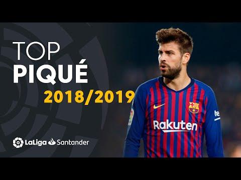 TOP Moments Gerard Piqué LaLiga Santander 2018/2019