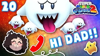 Dan shares HIS DAD'S VOICEMAILS! - Super Mario Galaxy 2: Part 20