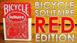 Deck Review - Bicycle Solitaire Deck