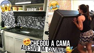 CHEGOU A CAMA, MARMITAS, ORGANIZANDO A CASA, COZINHA NOVA ♥ - Bruna Paula