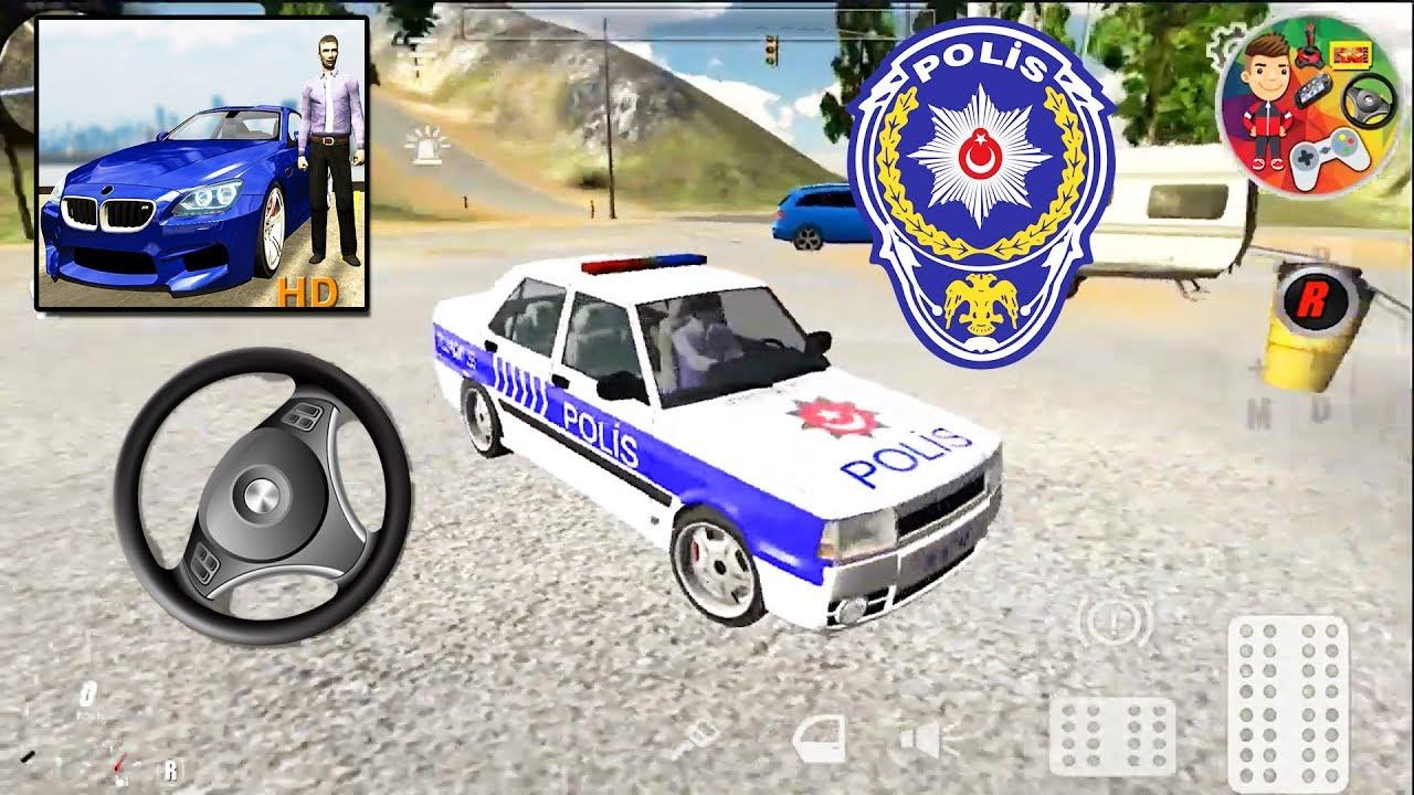 Tofaş Şahin Direksiyonlu Türk Polis Arabası Oyunu | Color ...