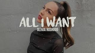 All I Want | Olivia Rodrigo (High School Musical The Musical The Series) (Lyrics)