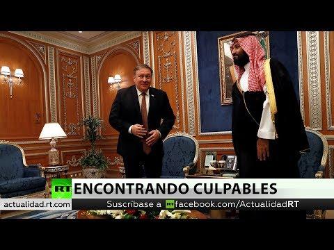 Mike Pompeo abordó con el rey saudita la polémica desaparición de un periodista en Estambul