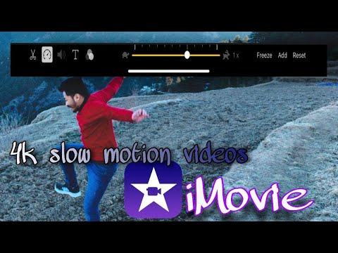 Create Slow motion videos on any iPhone through iMovie | 240 fps | 4K Slow- mo