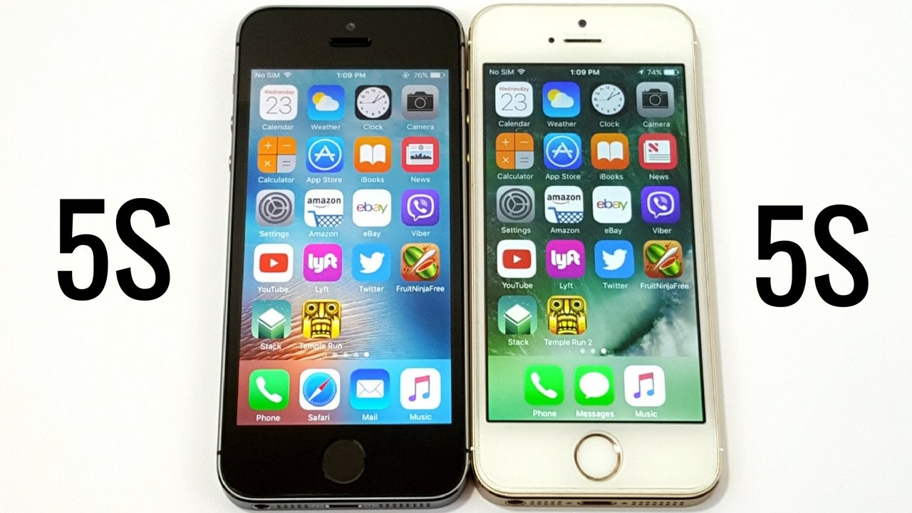 iphone 5 compared to iphone 5s iphone 5s ios 9 3 5 vs iphone 5s ios 10 1 1 6693