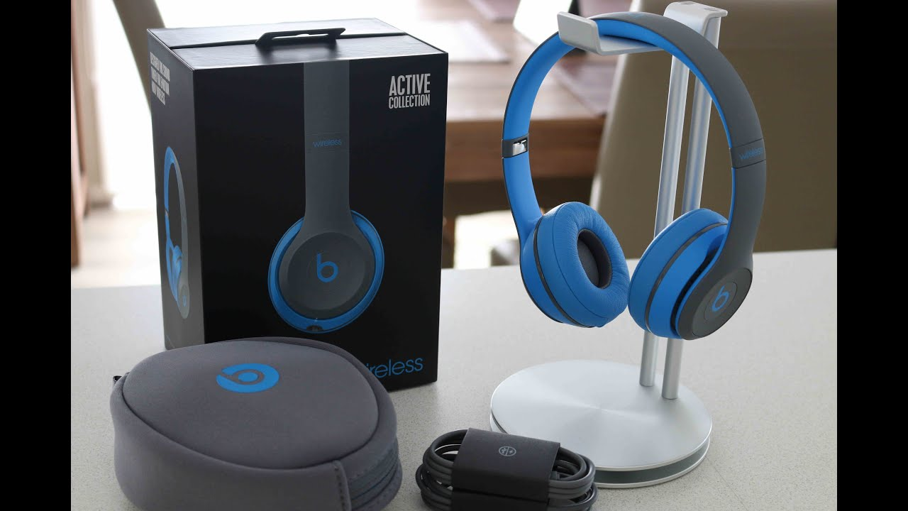 Headphones you can sleep in - Beats Solo2 - Active Collection - headphones with mic Overview
