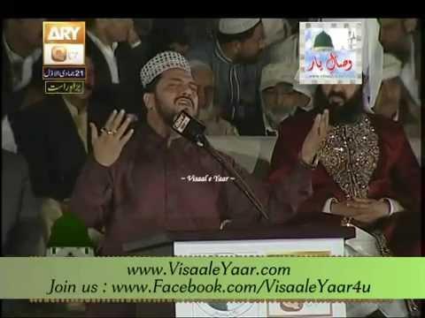 Zulfiqar Ali 22-03-2014 Mehfil e Naat At Jhelum Stadium.By Visaal