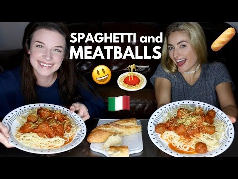 SPAGHETTI & MEATBALLS MUKBANG! Weird/Crazy Jobs We've Had