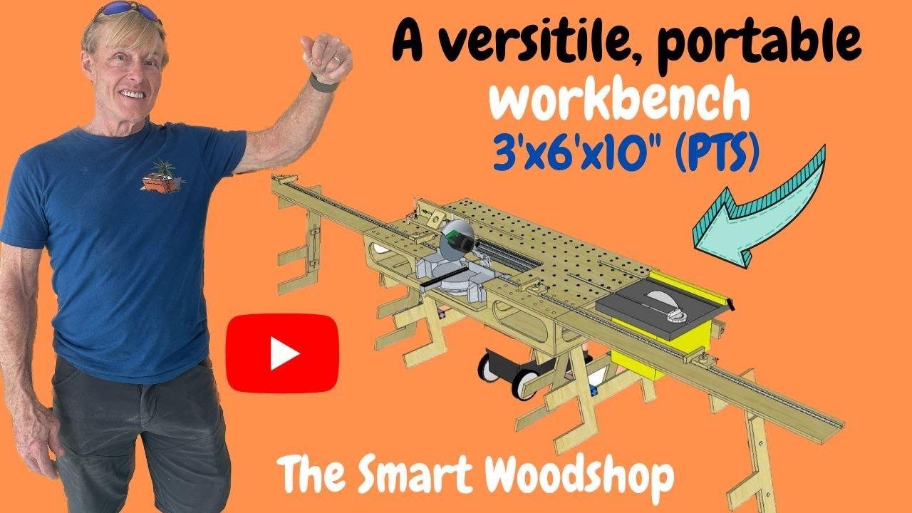 Paulk S Portable Woodshop 3 X6 X10 Quot Pts Youtube