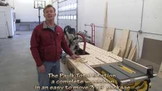 Complete Woodshop The Paulk Total Station