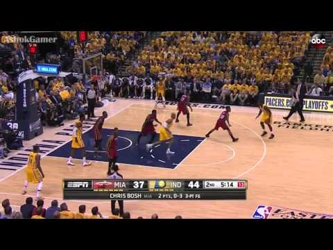 Miami Heat vs Indiana Pacers   May 18, 2014   Game 1   Full Game Highlights   NBA Playoffs 2014