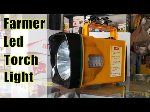 How to make farmer torch light for agricultural use.