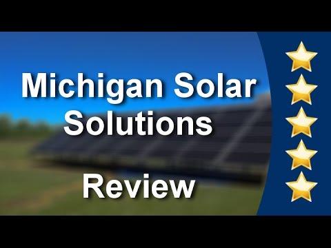 Michigan Solar Solutions Commerce Mi Review (248) 520-2474