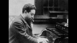 Isaac Albéniz - Zambra granadina (piano)