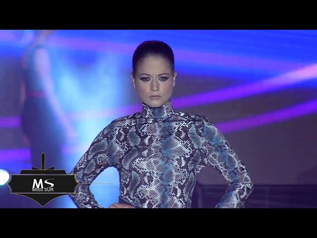 desfile CLARA CASTLE - Miss Sur 2019