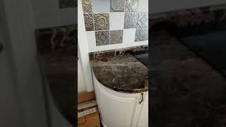 Мраморная столешница на кухню Алматы