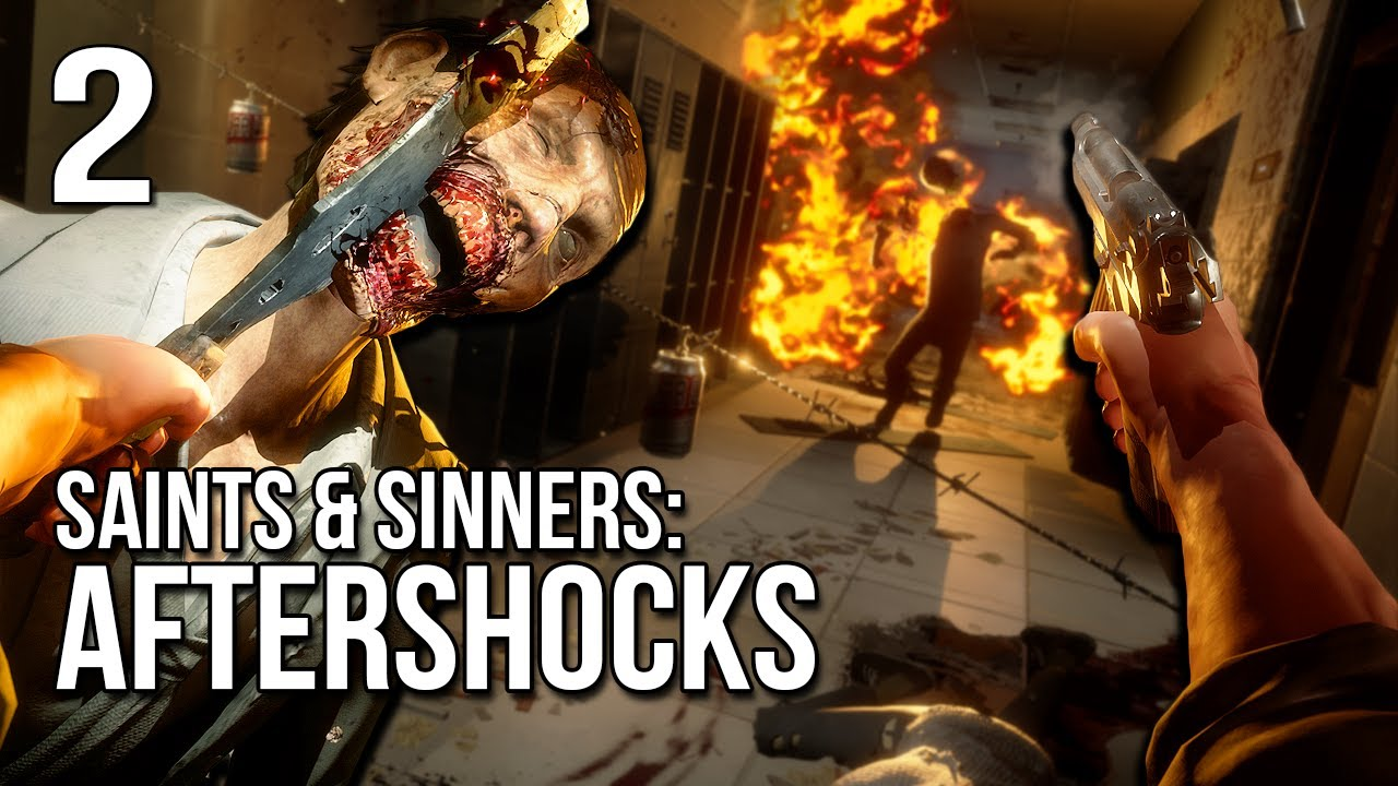 S&S: Aftershocks | Part 2 | Slashing Our Way Through School!
