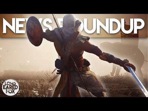 Assassin's Creed Origins | LIVESTREAM NEWS ROUNDUP - FIERY OUTFIT, Photo Mode Info & Hekka Chests!