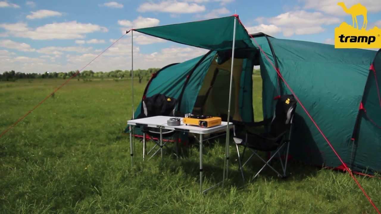 Кемпинговая палатка. Личный опыт - YouTube