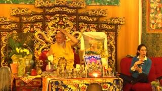 Insegnamento e pratiche di autoguarigione Tantriche NgalSo con Lama Gangchen Rinpoche (inglese – italiano)