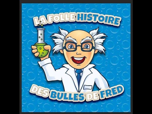 Spectacle enfants: La folle histoire des bulles de Fred