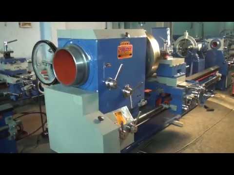 Heavy Duty Big Bore Lathe Machine 12 Feet (OM Brand)