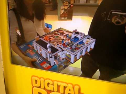 LEGO Store Augmented reality - YouTube