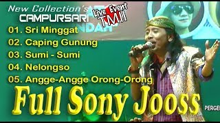 Single Terbaru -  Full Sony Joss Sri Minggat Live Tmii