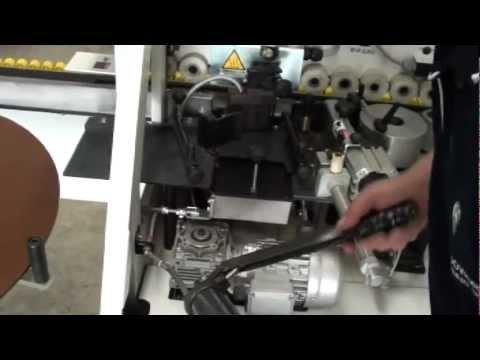 Lubricating an edgebander glue pot