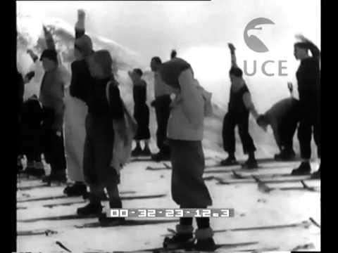La scuola di sci per gli iscritti all