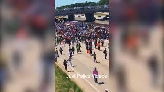 Chicago Protestors Shut Down Highway