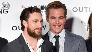 Chris Pine & Aaron Taylor-Johnson on Outlaw King + why they cut it down by 22 minutes