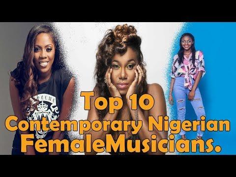 Top 10 Contemporary Nigerian Female Musicians [Biggest & Best] Seyi Shay, Niniola, Simi, Waje, Nneka