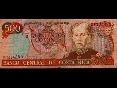 Así es Costa Rica y su moneda